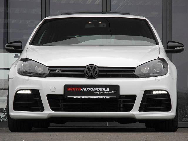 Volkswagen Golf VI R DSG Navi-groß, Leder, Schiebedach, PDC