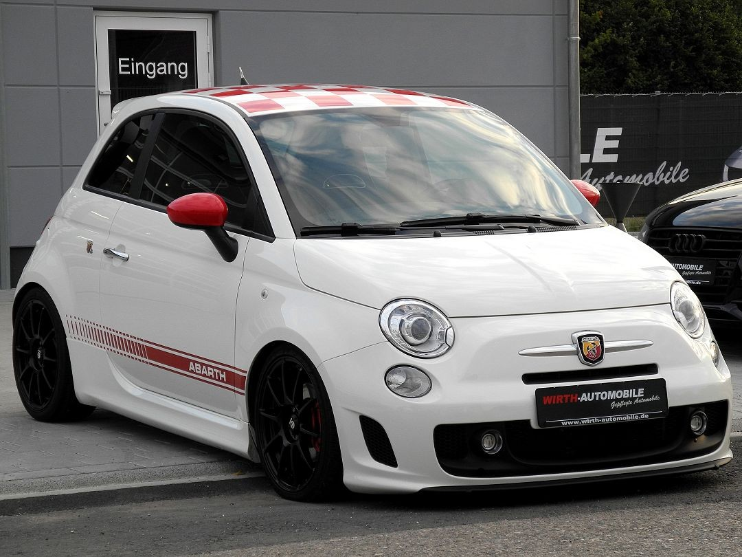 abarth 500 lim custom g tech exhaust sparco h r. Black Bedroom Furniture Sets. Home Design Ideas