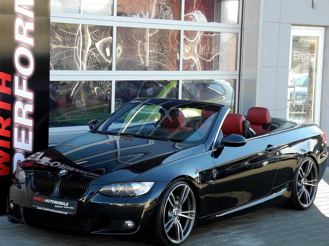 bmw 335i cabrio 20 m6 felgen navi pro leder rot. Black Bedroom Furniture Sets. Home Design Ideas