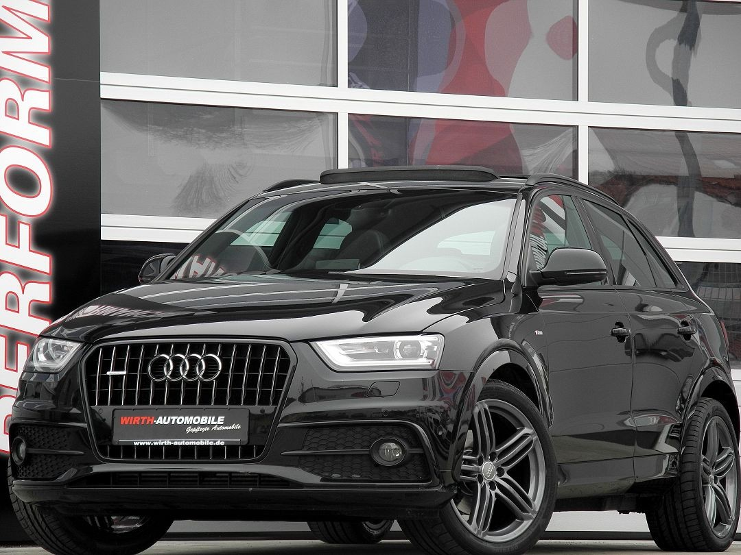 audi q3 2 0 tdi quattro s line high executive wirth automobile. Black Bedroom Furniture Sets. Home Design Ideas