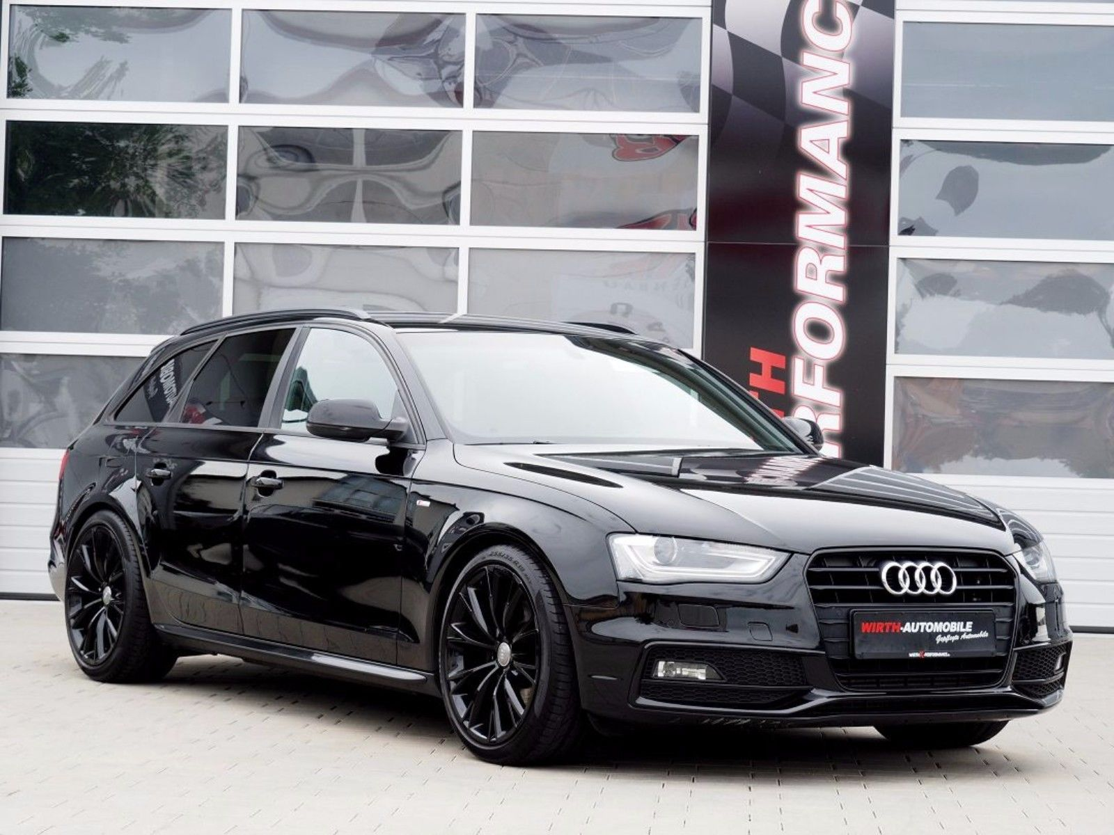 audi a4 avant s line sportpaket sline plus wirth automobile. Black Bedroom Furniture Sets. Home Design Ideas