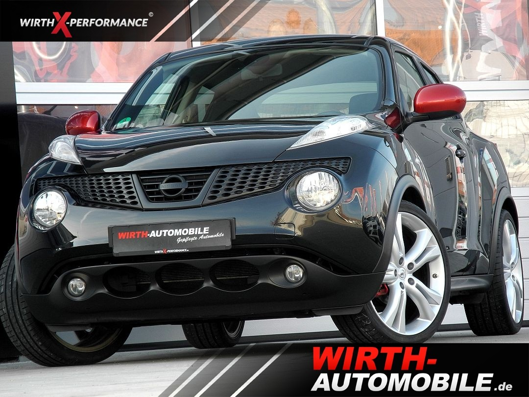 nissan juke tekna, sportselection, kamera, navigation.. - wirth